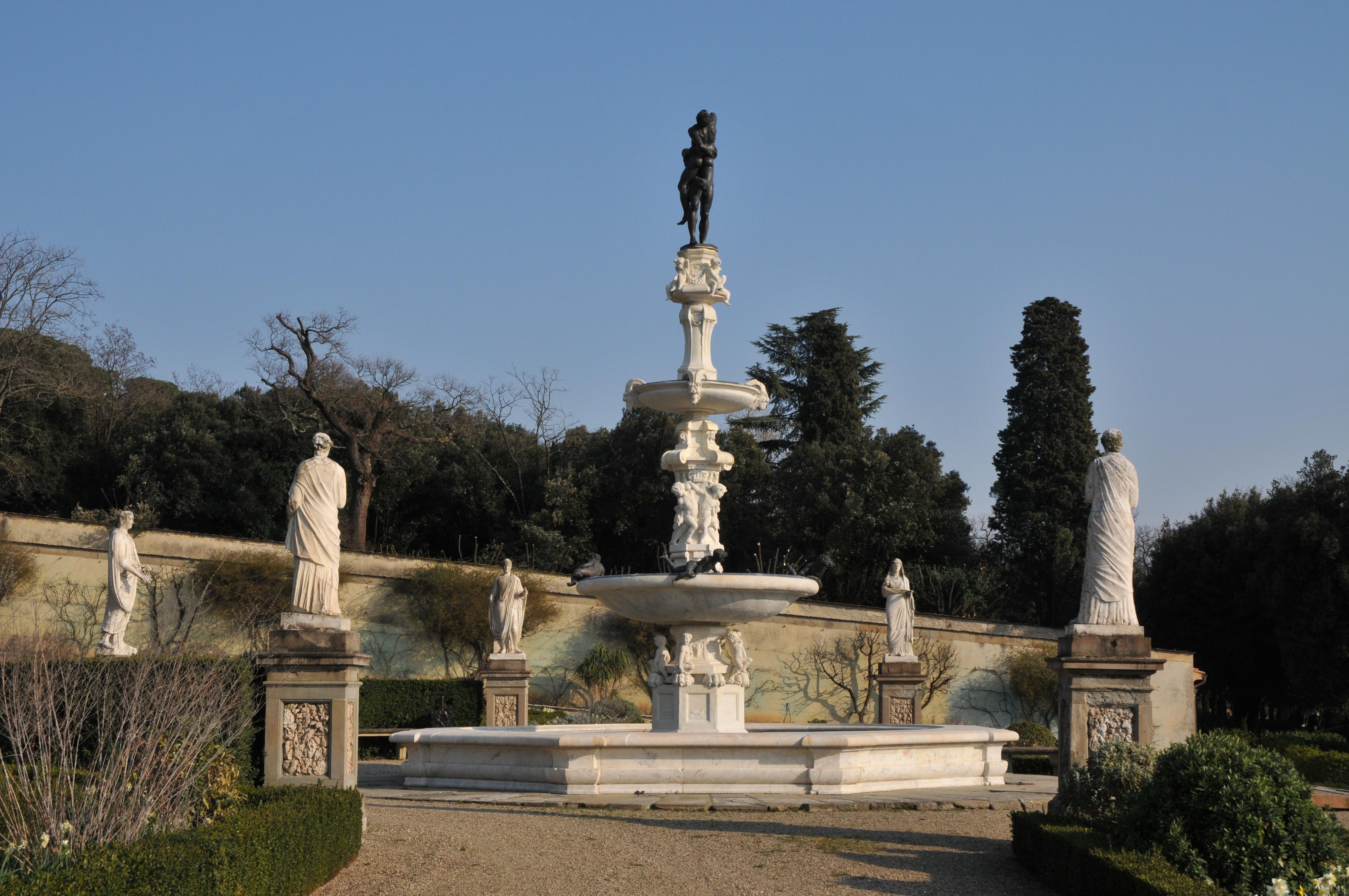 Firenze da vedere per ville e per giardini piccoli - Giardini per ville ...